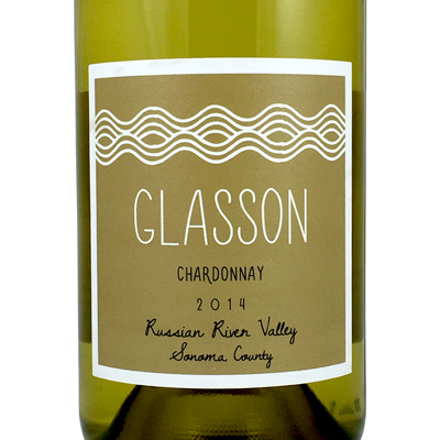 2014 Glasson Chardonnay Sonoma County, California