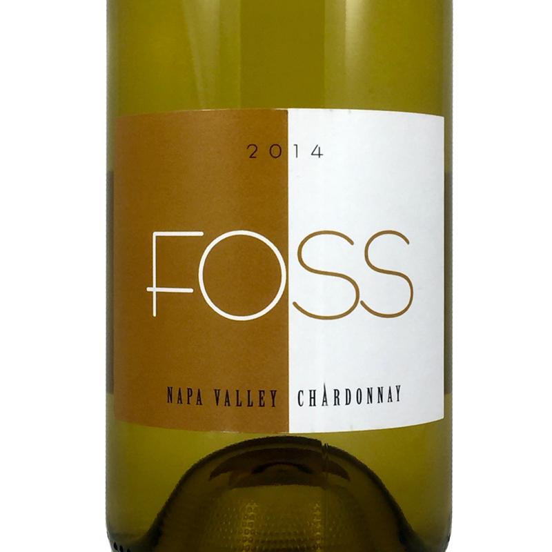2014 Foss Chardonnay Napa Valley, California