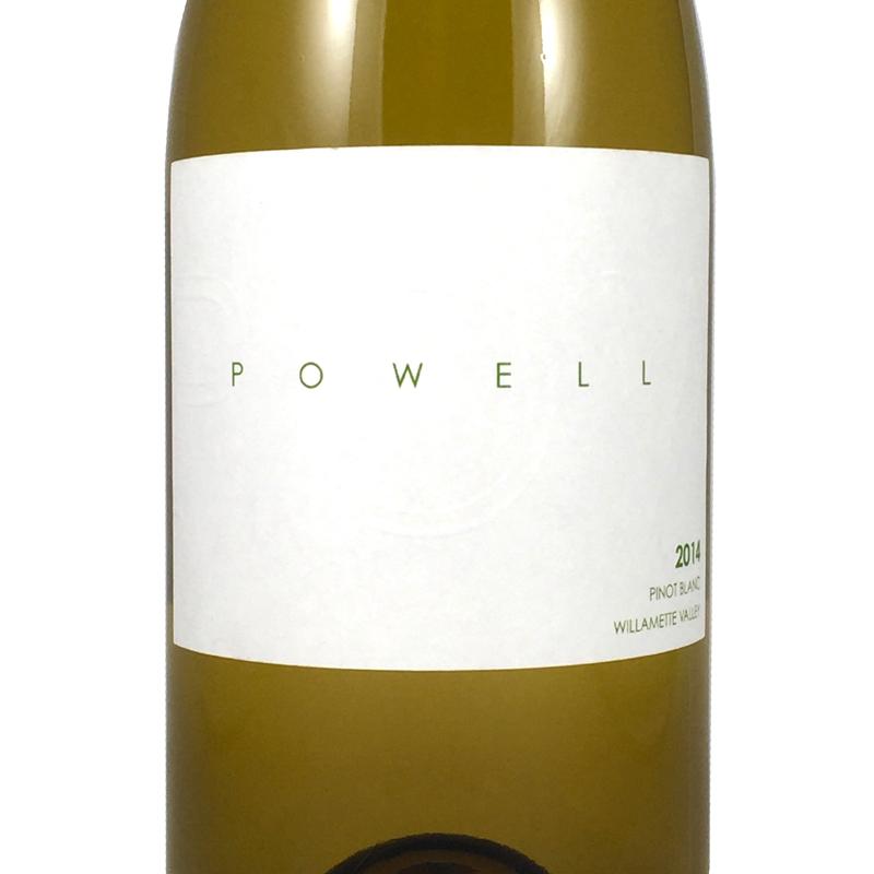 2014 Powell Pinot Blanc Willamette Valley, Oregon
