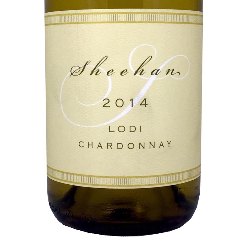 2014 Sheehan Chardonnay Lodi, California