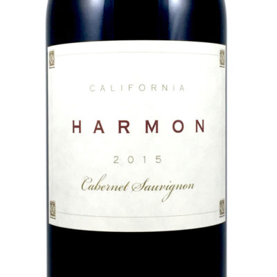 2015 Harmon Cabernet Sauvignon California, USA
