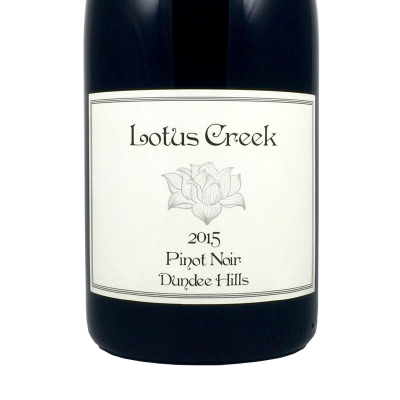 2015 Lotus Creek Pinot Noir Willamette Valley, Oregon
