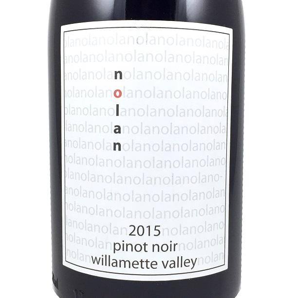 2015 Nolan Pinot Noir Willamette Valley, Oregon
